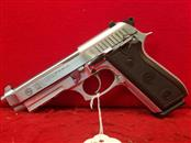Taurus PT92 AR 9mm Pistol - 3 Mags - Stainless